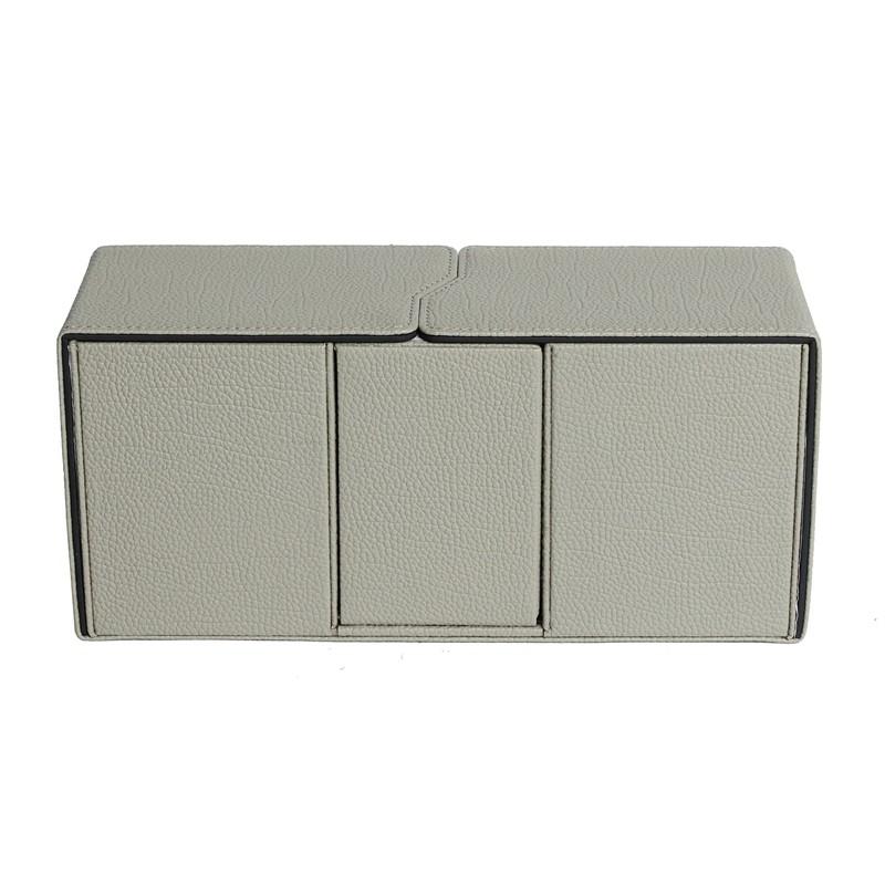 PU material beige spiderman series deck box