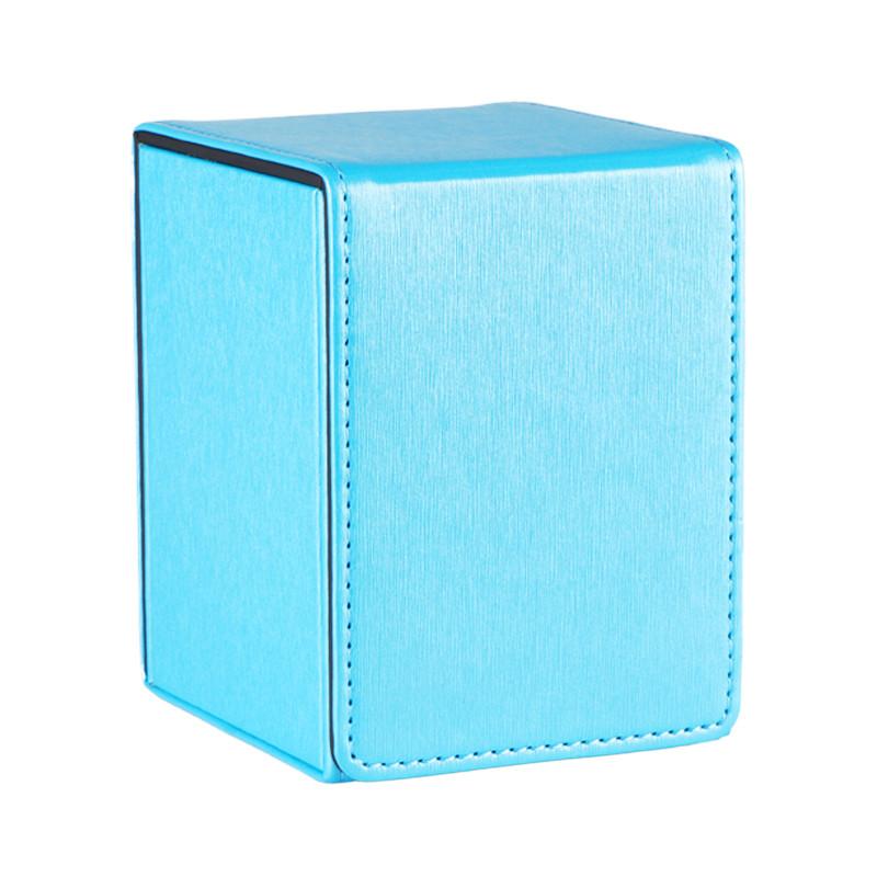 PU material blue full cover series deck box