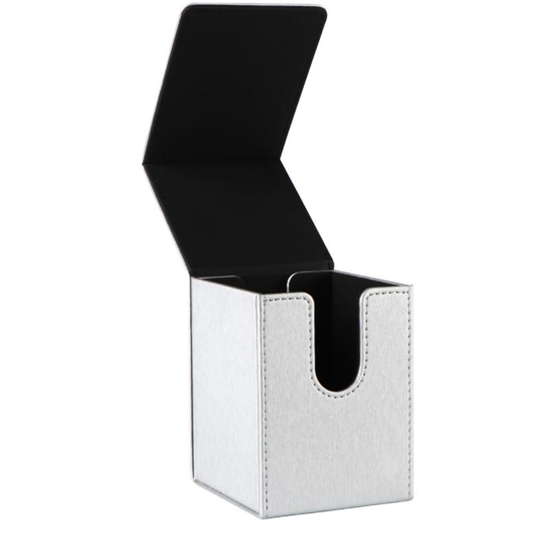 PU material silver full cover series card box