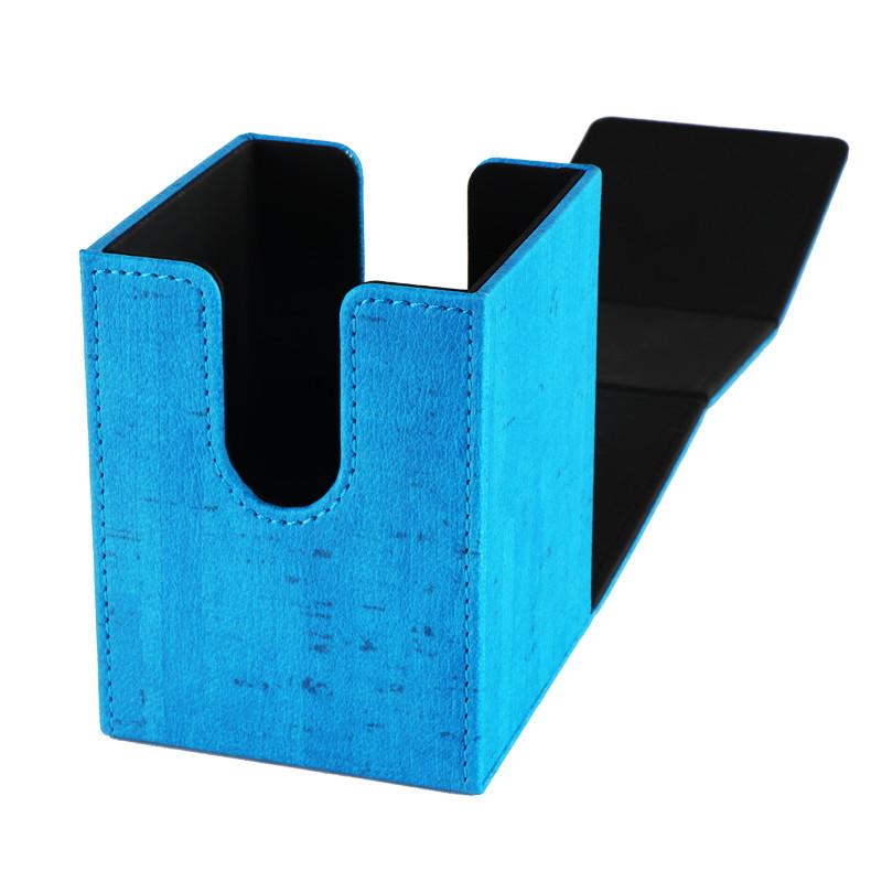 Henwei PU material blue double door deck box