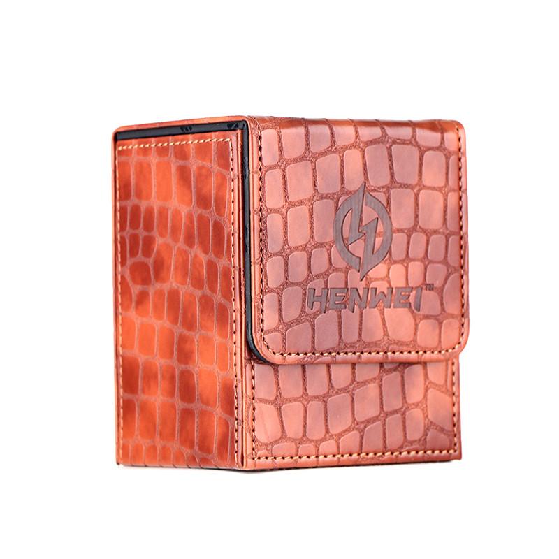 PU material Kirin series single door brown deck box