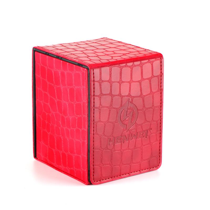 PU material Kirin series red double door deck box