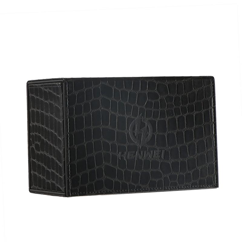 PU material Kirin flip-type black deck box