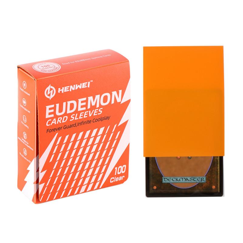 Guardian Series Orange Card sleeves