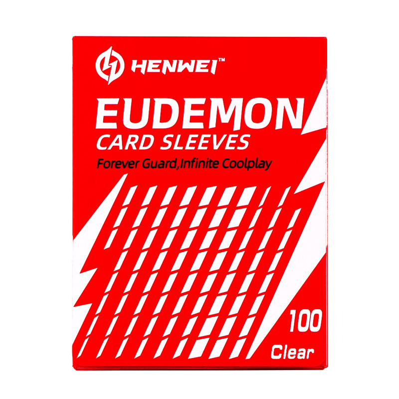 Guardian Series red Card sleeves