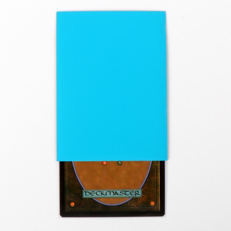 Card head bag blue card sleeves