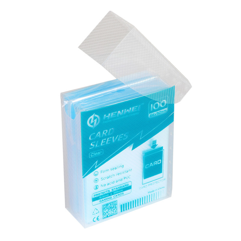Boxed series transparent card sleeve